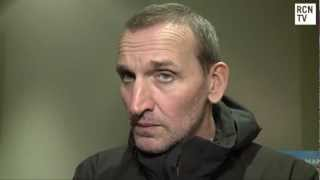 getlinkyoutube.com-Christopher Eccleston Interview Doctor Who 50th Anniversary