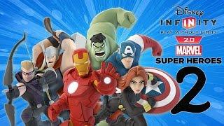 getlinkyoutube.com-Zagrajmy w Disney Infinity 2.0: Marvel Super Heroes (PS4) odc.2 W Mieście (Avengers)