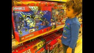 getlinkyoutube.com-VLOG Шопинг в Магазине Игрушек Лего Москва,покупка набора Lego Creator,Shopping for some Lego