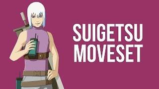Naruto Storm Revolution - Suigetsu Complete Moveset