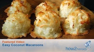 Coconut Macaroons - You Suck at Cooking (episode 76) width=