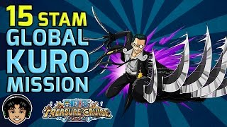 getlinkyoutube.com-Walkthrough for Global Kuro 15 Stamina Mission [One Piece Treasure Cruise]