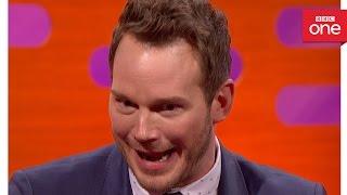 getlinkyoutube.com-Chris Pratt's leftover steak story - The Graham Norton Show 2016: Episode 9 - BBC