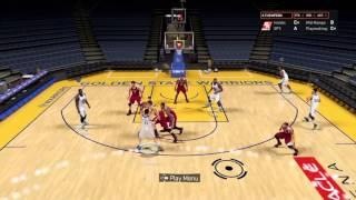getlinkyoutube.com-NBA 2K16 Money Plays , Golden State  Warriors 2a