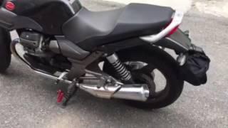 Moto Guzzi Breva 750 brutal italian sound