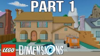 getlinkyoutube.com-LEGO Simpsons Walkthrough Part 1 - LEGO Dimensions The Simpsons Level Pack