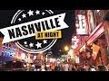 Downtown Nashville Nightlife Fun! Broadway, Midtown, Printer's Alley