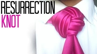 getlinkyoutube.com-The Resurrection Knot : How to tie a tie