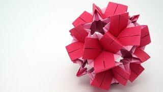 getlinkyoutube.com-Origami CLO Kusudama (Isa Klein)