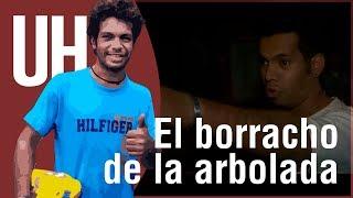 """getlinkyoutube.com-""""Borracho de la arbolada"""", detenido por robo en Villa Elisa"""