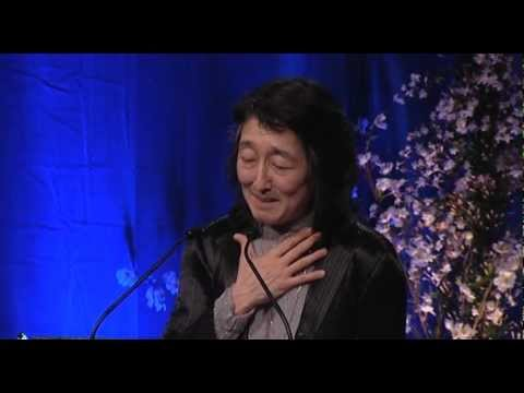 Mitsuko Uchida receives RPS Gold Medal - 8 May 2012, London