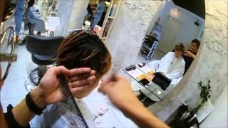【warphair森泉】サイド&ネープ刈り上げ女子・ベリーショートスタイル