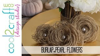 getlinkyoutube.com-How to Make Looped Burlap Flowers + Bonus Tablescaping Ideas