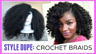 getlinkyoutube.com-CROCHET BRAIDS ALTERNATIVE: Marley Hair Wig in 30 Minutes!