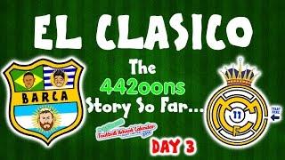 getlinkyoutube.com-El Clasico - the story so far! Barcelona vs Real Madrid 1-1 2016(DAY 3 FOOTBALL ADVENT CALENDAR)