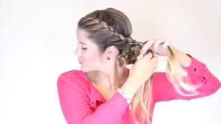 getlinkyoutube.com-Peinado elegante de trenzas