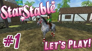 getlinkyoutube.com-Let's Play Star Stable #1 - Creating A Horse and Rider