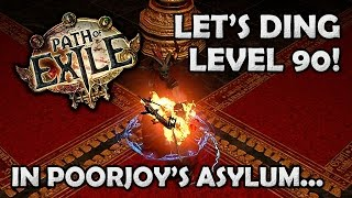getlinkyoutube.com-Path of Exile: Poorjoys to Level 90 on my Tornado Shot Ranger [Stream HIghlight]