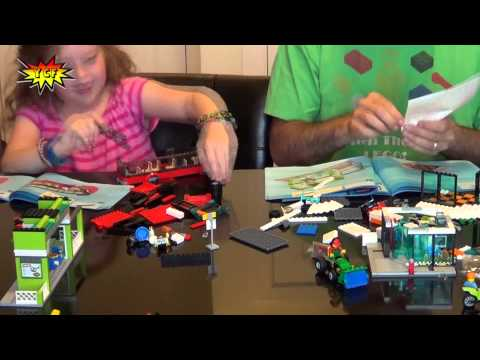 LEGO CITY Town Square Time-Lapse Build - LEGO 60026 Speed Bu