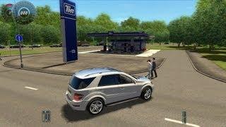 getlinkyoutube.com-City Car Driving Mercedes Benz ML63 AMG Remake [1080p]