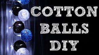 getlinkyoutube.com-♥ COTTON BALLS ♥ DIY