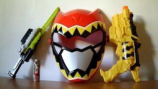 getlinkyoutube.com-Red Ranger Hero Set Review (Power Rangers Dino Charge Toys)