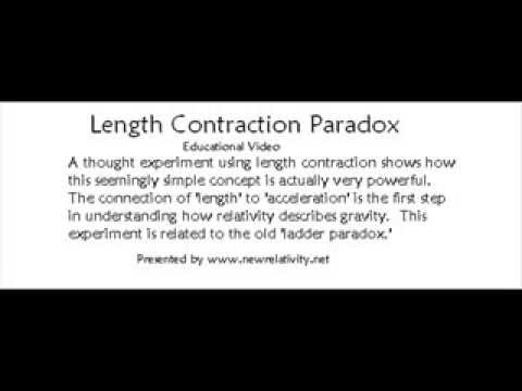 Length Contraction Paradox