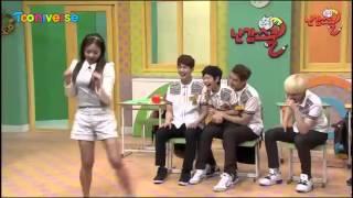 getlinkyoutube.com-130531 SHINEE(샤이니) & YEWON(예원) NAN GAM SCHOOL 샤이니를 유혹하는 예원쌤의 치명적 댄스!