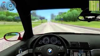 getlinkyoutube.com-#090 Let's Play City Car Driving - BMW M5 E39
