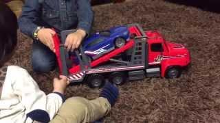 getlinkyoutube.com-سيارات أطفال شاحنة كبيرة ويوميات منتظر