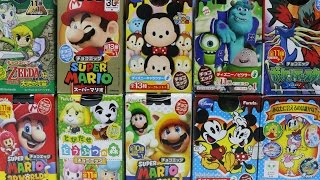 getlinkyoutube.com-チョコエッグ×10 ディズニーキャラクター ゼルダの伝説 ポケモン スーパーマリオ とびだせどうぶつの森 ピクサー Disney Pixar Pokemon Mario surprise eggs