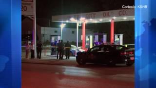Un hombre recibió un disparo mientras le ponía gasolina a su coche.