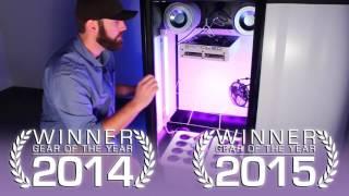 getlinkyoutube.com-SuperStar LED Grow Cabinet By SuperCloset