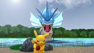 Pokemon 3D Animation - Pokedex Entry #2 - Lake Of Rage! - Gyarados