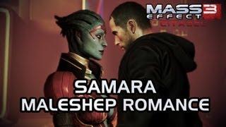 getlinkyoutube.com-Mass Effect 3 Citadel DLC: Samara Romance (MaleShep)