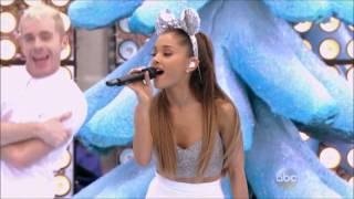 getlinkyoutube.com-Ariana Grande   Last Christmas/ Santa Tell Me