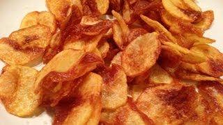getlinkyoutube.com-So macht man Kartoffel -- Chips selber   -- Der Bio Koch #322