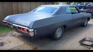 1969 Chevy Impala (YouTube User ACA332 New Ride)