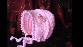 getlinkyoutube.com-Gorro tejido a dos agujas para niñas