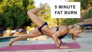 getlinkyoutube.com-5 Minute Fat Burning Bikini Workout #89