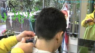 getlinkyoutube.com-Samira from Iran wants a short hairstyle! ( With hairdressers love 5 )  by Theo Knoop.