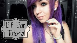 getlinkyoutube.com-Elf Ear Tutorial