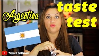 getlinkyoutube.com-ARGENTINIAN FOOD ARGENTINA TASTE TEST | VIVIAN REACTS