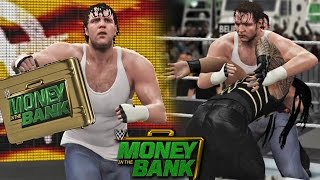 getlinkyoutube.com-WWE Money in the Bank 2016 - Dean Ambrose Cashes Money inthe Bank Wins WWE Title - WWE 2K16