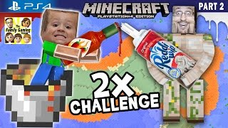 getlinkyoutube.com-Minecraft Hot Sauce & Whipped Cream Challenge + Lava Island Golems (FGTEEV PS4 Part 2 Gameplay)