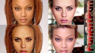 getlinkyoutube.com-УРОКИ ФОТОШОПА. Самый быстрый фотомонтаж: замена лица в фотошопе