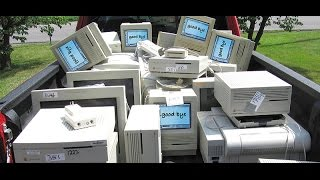 getlinkyoutube.com-Vintage Mac computers at the recycling center