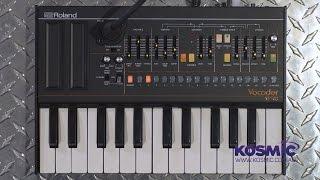 getlinkyoutube.com-Roland VP-03 Vocoder In Depth Review