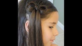 getlinkyoutube.com-Peinado Corbatin - en solo 3 minutos! - Facil y Rapido