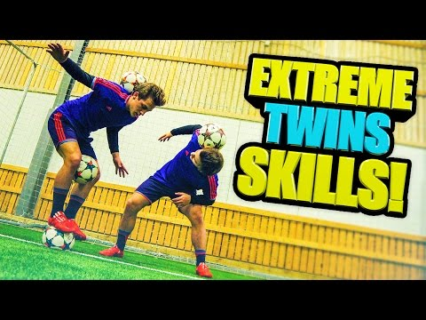 @SkillTwins EXTREME Football/Freestyle Skills!